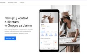 Wizytówka Google - zakładanie konta
